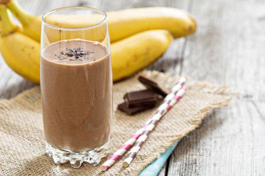 RECETA   Cremoso de plátano y cacao