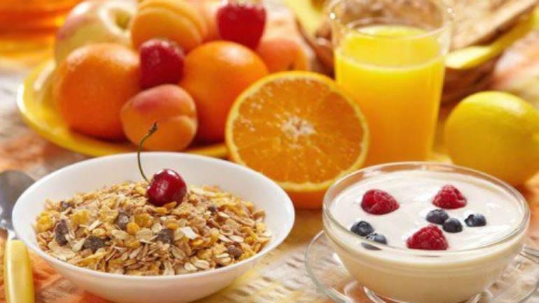 Alimentos para tomar en desayunos, almuerzos y meriendas